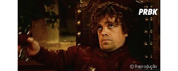 Game of Thrones, Tyrion brindando o sucesso
