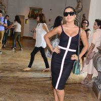 Anitta ostentação! Cantora vai ao SPFW usando vestido e joias avaliados em R$ 10 mil!