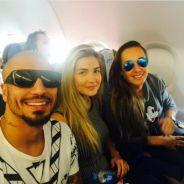 """Do """"BBB15"""": Fernando e Aline viajam juntos para Bahia. É só trabalho ou tem namoro de novo?"""