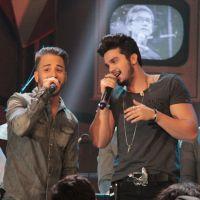 """Luan Santana participa do """"Altas Horas"""" e revela: """"Eu era muito fã de Sandy & Junior"""""""