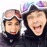 """Ian Somerhalder, de """"The Vampire Diaries"""", e Nikki Reed se casam em segredo e fotos vão parar na web"""