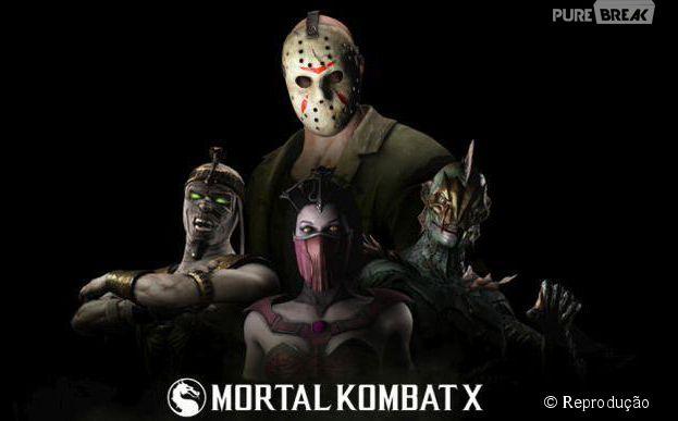 """""""Mortal Kombat X"""" estreia o primeiro DLC chamado """"Horror Pack"""" em 5 de maio"""