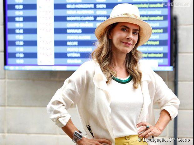 """Fortes pistas indicam queKitty (Maitê Proença) é a mãe de Laura (Nathalia Dill), na novela """"Alto Astral"""", da Globo"""