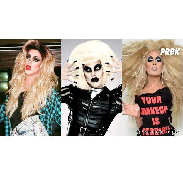 """Adore Delano, Sharon Needles e Alaska 5000 são algumas das drags de """"Rupaul's Drag Race"""" com usa música no Youtube"""