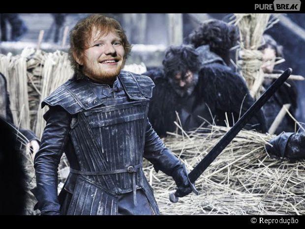 Ed Sheeran elege trilha sonora para os personagens de Game Of Thrones