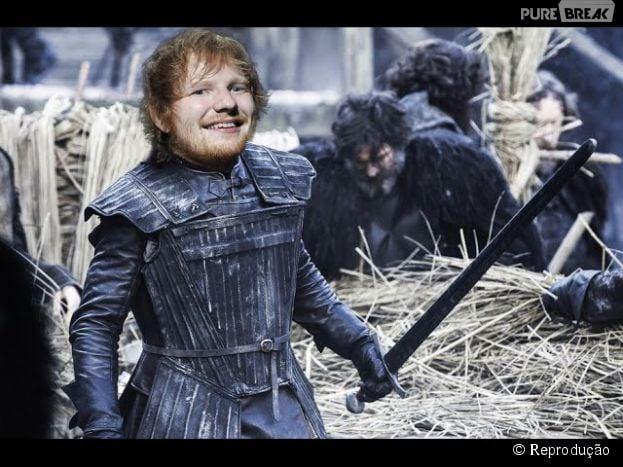 Ed Sheeran Viciado Em Game Of Thrones Cantor Escolhe Musica Para Cada Personagem Da Serie Purebreak