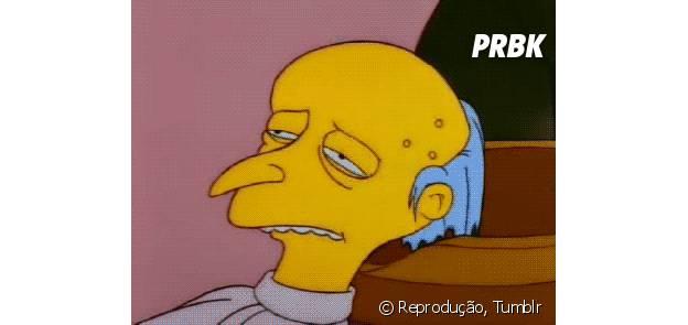 """Sr. Burns, de """"Os Simpsons"""", não retorna para as temporadas 27 e 28 do desenho"""