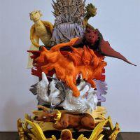 """""""Game of Thrones"""", """"Madagascar"""", """"Harry Potter"""" e bolos que além de deliciosos, são muito criativos!"""