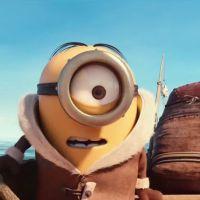 """De """"Minions"""": Kevin, Stuart, Bob e a vilã Scarlet Overkill no novo trailer da animação"""