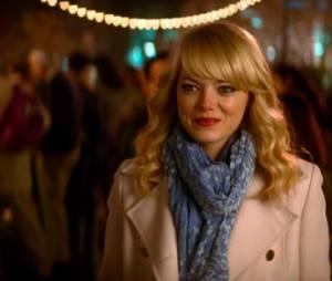 """Emma Stone é Gwen Stacy, namorada de Peter Parker (Andrew Garfield) em""""O Espetacular Homem-Aranha: A Ameaça de Electro"""""""