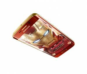 No site oficial da Samsung, na Coréia do Sul, o Galaxy S6 Edge: Homem de Ferro já esgotou!