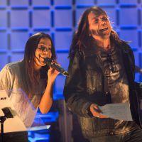 """Anitta canta músicas de Thiaguinho e John Mayer no palco do """"Música Boa Ao Vivo"""""""
