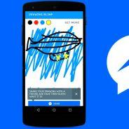 """Facebook Messenger lança o primeiro game no aplicativo de mensagens chamado """"Doodle Draw"""""""