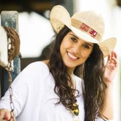 """Camilla Camargo fala da novela """"Em Família"""" e das dificuldades de ser filha de famoso"""