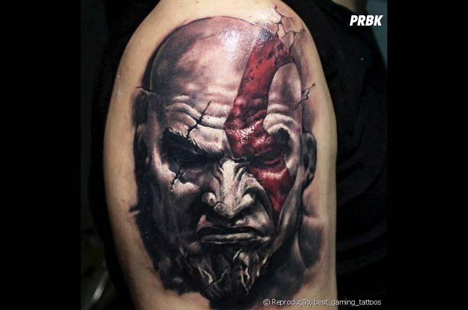 Mais Um Desenho Do Kratos De God Of War Pra Ningu 233 M Botar Defeito