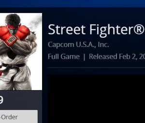 """Possível data de lançamento da versão oficial de """"Street Fighter V"""""""