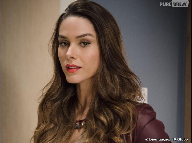 """Leila (Fernanda Machado) morrerá queimada em """"Amor à Vida"""""""