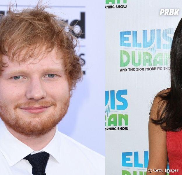 Ed Sheeran e Selena Gomez são flagrados jantando juntos e levantam rumores sobre parceria. Será?
