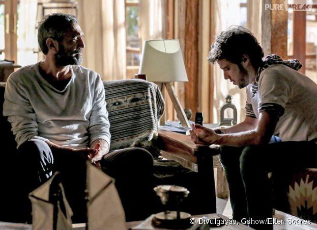 """Emoções finais de """"Sete Vidas"""": Pedro (Jayme Matarazzo) tem conversa decisiva com seu pai biológico!"""