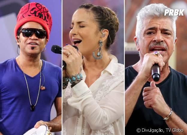 """Carlinhos Brown, Claudia Leitte e Lulu Santos continuam nas cadeiras do """"The Voice Brasil"""""""