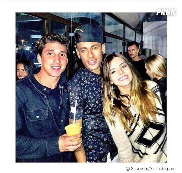 Neymar Jr. e Giovanna Lancellotti no Instagram: Jogador posta foto com atriz e apaga minutos depois