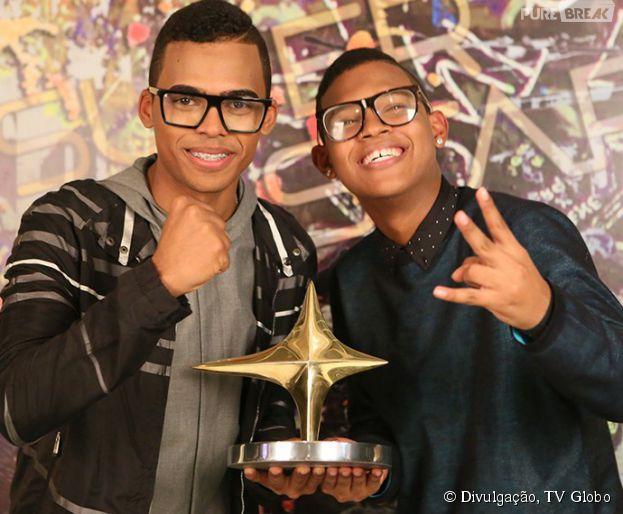 """Lucas e Orelha foram os campeões do """"SuperStar"""" 2015"""