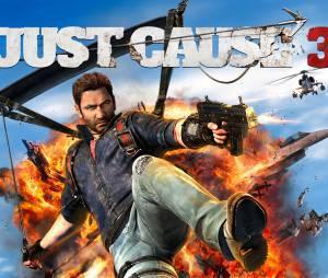 "Gameplay de ""Just Cause 3"" mostra a versatilidade do gancho de Rico"