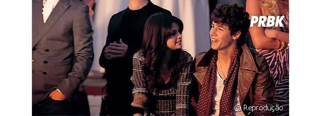 Selena Gomez até participou de um clipe dos Jonas Brothers ao lado de Nick Jonas