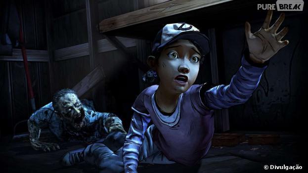 """Em """"The Walking Dead: Season Two"""" você é Clementine"""