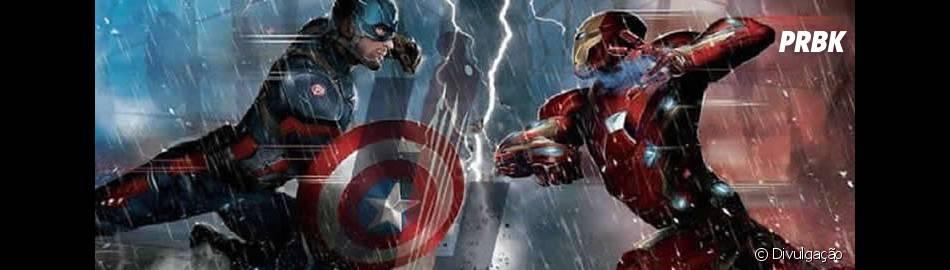"""Capitão América e Homem de Ferro vão brigar em """"Capitão América: Guerra Civil"""""""