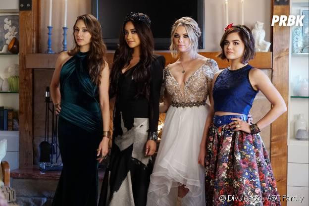 """Spencer (Troian Bellisario), Emily (Shay Mitchell), Hanna (Ashley Benson) e Aria (Lucy Hale) vão ficar mais próximas da verdade em """"Pretty Little Liars"""""""