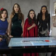"Em ""Pretty Little Liars"": Spencer, Hanna, Aria e Emily ficam chocadas nas fotos do mid-season finale"