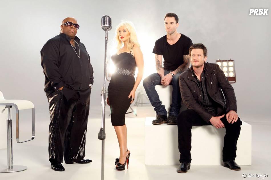 """Christina Aguilera e Cee Lo Green vão sair do """"The Voice USA""""!"""