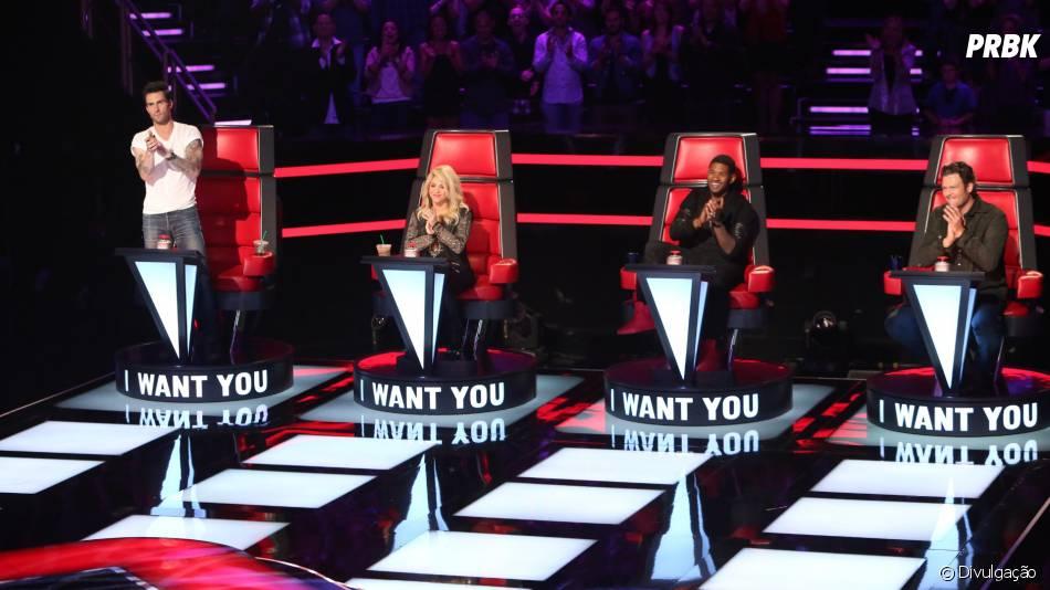 """Shakira e Usher sentarão novamente nas cadeiras do """"The Voice USA""""!"""