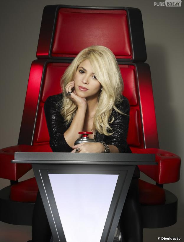"Shakira voltará ao ""The Voice USA""!"