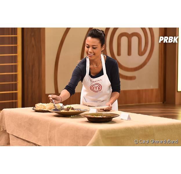 """No """"MasterChef Brasil"""", Sabrina é eliminada e se emociona ao falar sobre gravidez: """"É uma menina!"""""""