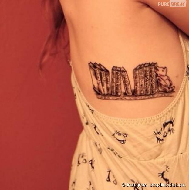 20 tatuagens sobre livros pra quem é amante da literatura!
