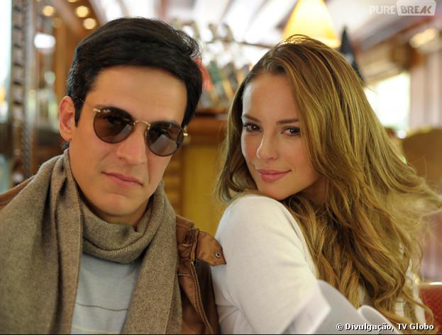 """Será que Félix (Mateus Solano) e Paloma (Paolla Oliveira) voltarão a ser irmãos felizes em """"Amor à Vida""""?"""