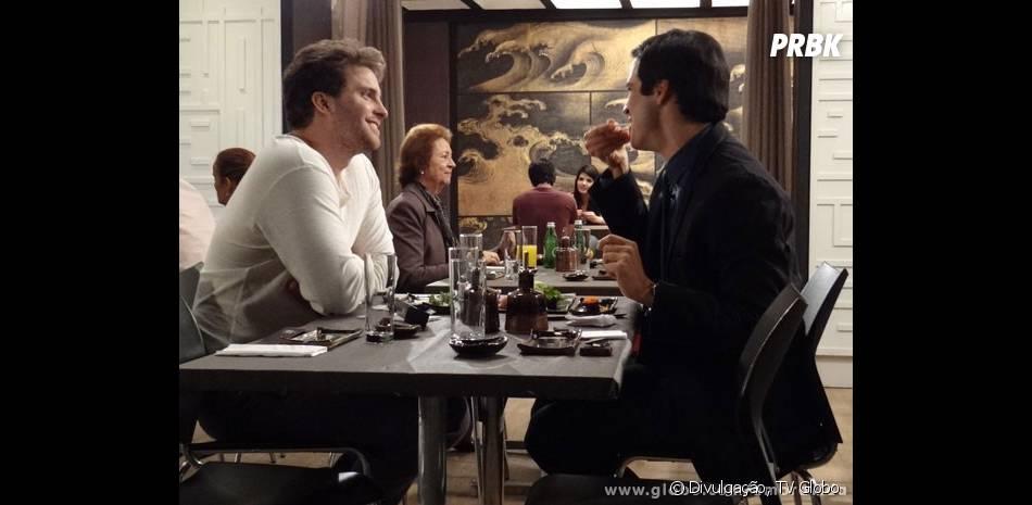 """O relacionamento de Félix (Mateus Solano) com Niko (Thiago Fragoso) em """"Amor à Vida"""" também será crucial para a redenção do vilão"""