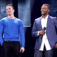"""De """"Capitão América 3"""": Chris Evans e Anthony Mackie comparam rixas da trama com brigas em família"""