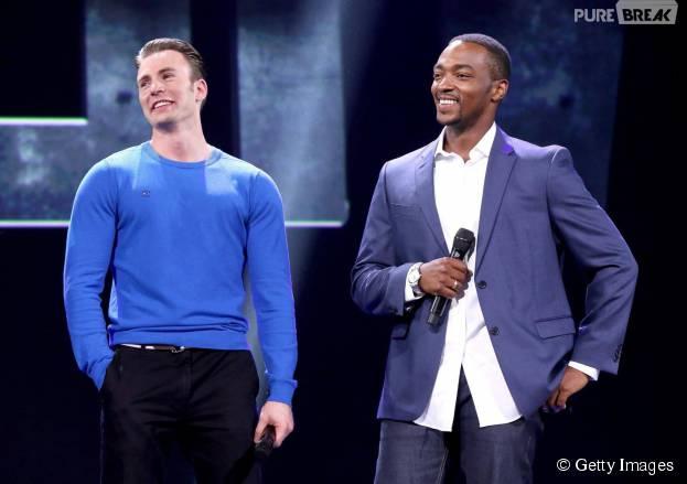 """Chris Evans e Anthony Mackie falam sobre """"Capitão América 3"""""""
