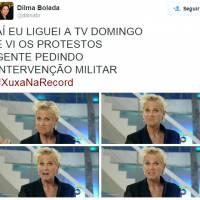 Xuxa estreia na Record e memes explodem na internet! Confira os melhores!