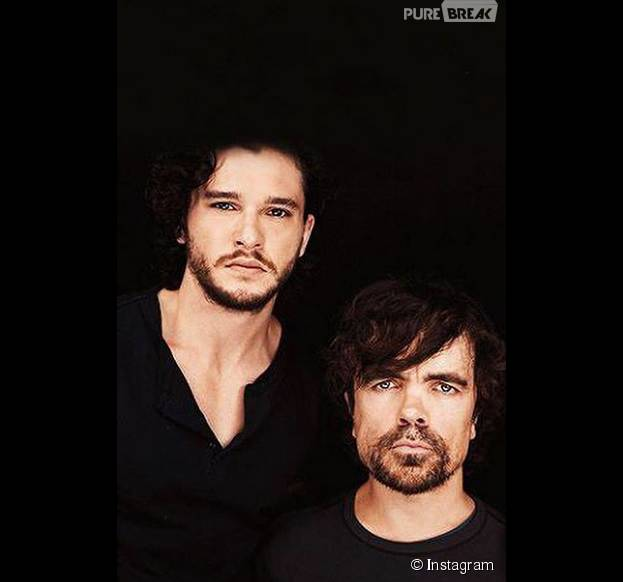 Peter Dinklage posta foto com Kit Harington no Instagram, pedindo a volta de Jon Snow!