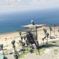 """Game """"GTA V"""": estátua do Cristo Redentor é adicionada ao jogo em novo mod criado por usuário!"""