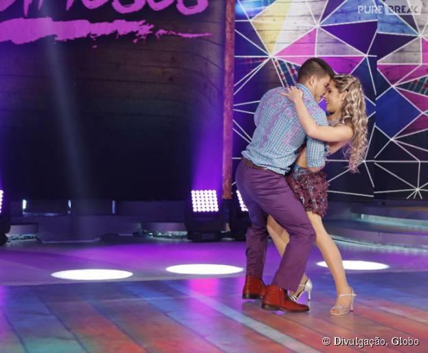 """Arthur Aguiar permanece em primeiro lugar na """"Dança dos Famosos!"""