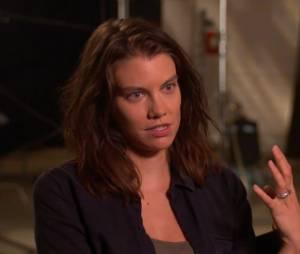 "Lauren Cohan, a Maggie de ""The Walking Dead"", fala sobre a sexta temporada da série"