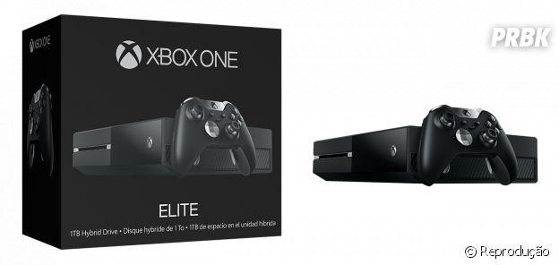 Xbox One Elite Bundle traz um console com melhor performance, que vai agradar aos gamers profissionais