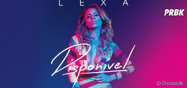 Lexa divulga capa e nome das músicas do seu primeiro CD