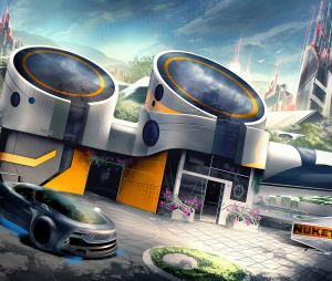 "Screenshot do mapa Nuk3town que retorna em ""Call Of Duty: Black Ops 3"""