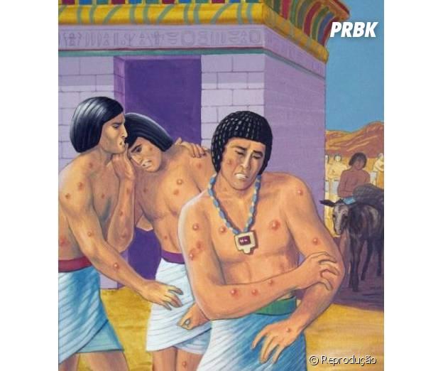 """Povo do Egito fica com úlceras e muita coceira em """"Os Dez Mandamentos"""""""